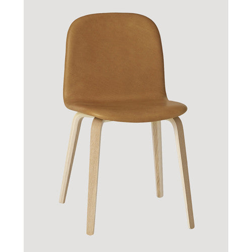 Visu Dining Chair - Wood Base - Upholstered Shell