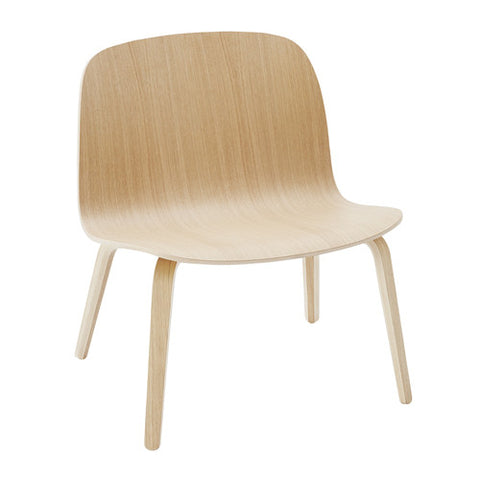 Visu Lounge Chair - Wood Shell