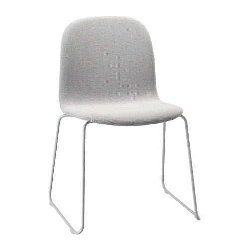 Visu Dining Chair - Sled Base - Upholstered Shell