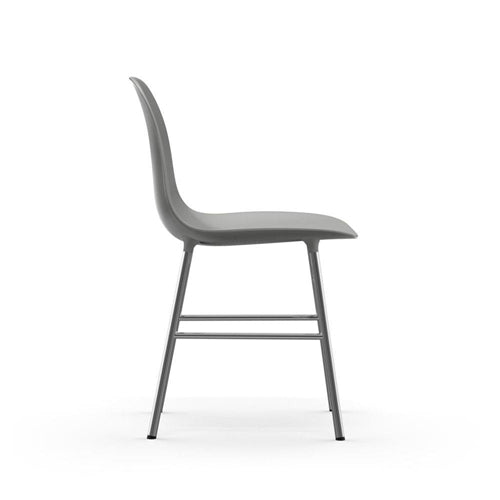 Form Dining Chair - Chrome Legs
