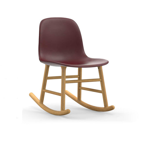 Form Rocking Upholstered Chair - Oak Legs