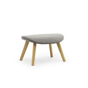Hyg Footstool - Oak Legs