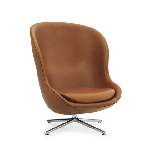Hyg High Back Swivel Lounge Chair