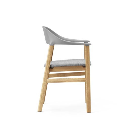 Herit Upholstered Dining Arm Chair