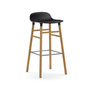 Form Bar Stool - Oak Legs