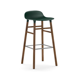 Form Bar Stool - Walnut Legs
