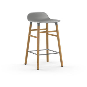 Form Counter Stool - Oak Legs