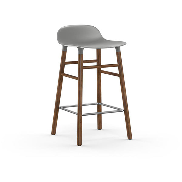 Form Counter Stool - Walnut Legs