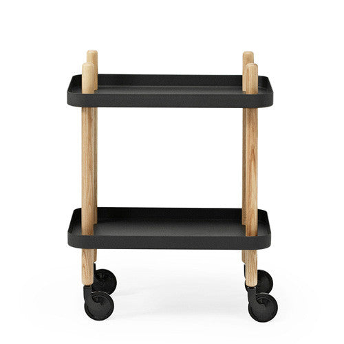 Block Side Table/Trolley