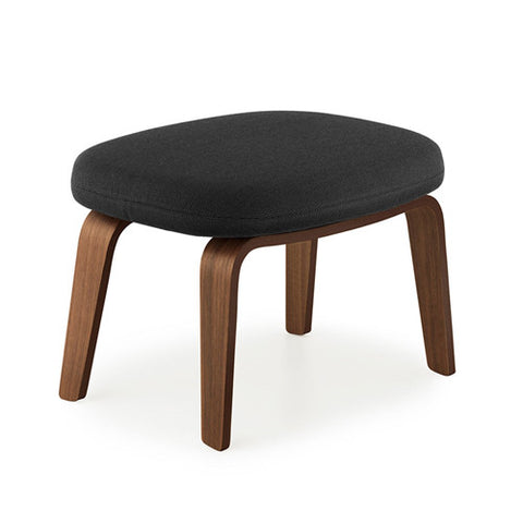 Era Footstool - Wood Legs