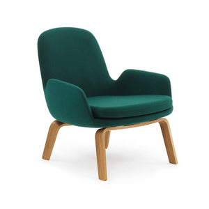 Era Lounge Chair - Low - Wood Legs