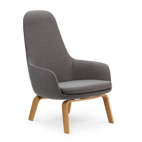 Era Lounge Chair - High - Wood Legs