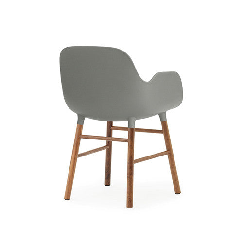 Form Dining Arm Chair - Walnut Legs
