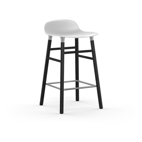 Form Counter Stool - Black Oak Legs