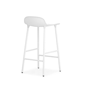 Form Counter Stool - Steel Legs