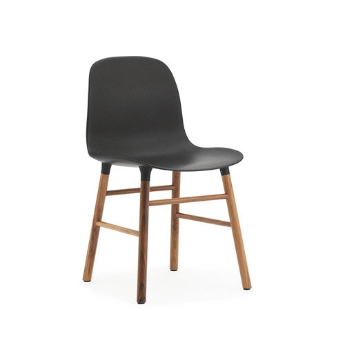 Form Dining Chair - Walnut Legs