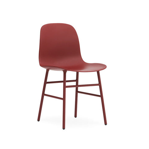 Form Dining Chair - Steel legs