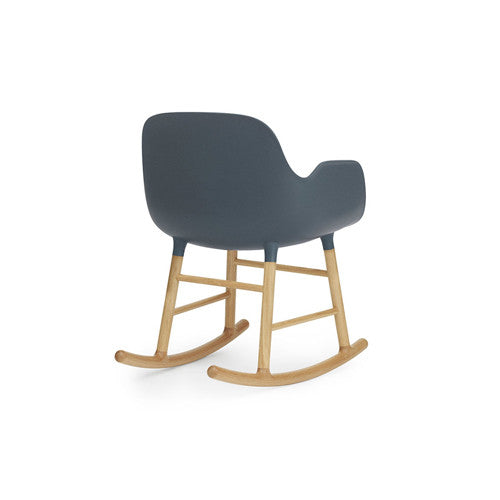 Form Rocking Arm Chair - Oak Legs