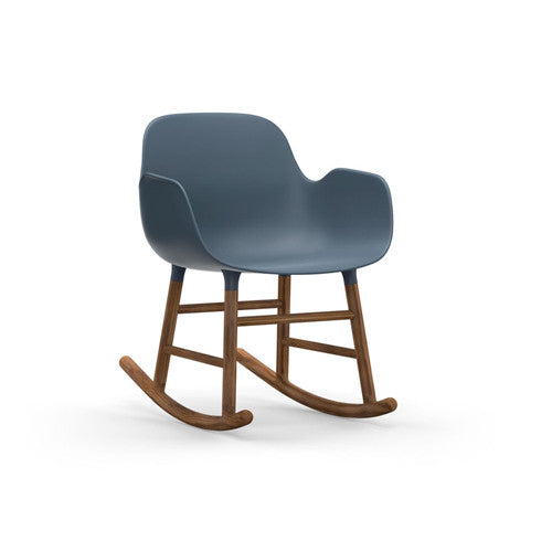 Form Rocking Arm Chair - Walnut Legs