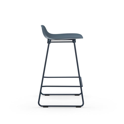 Form Stacking Counter Stool - Steel Legs