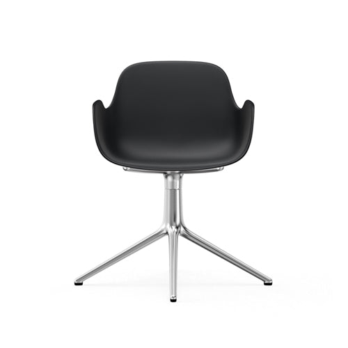Form Swivel Arm Chair