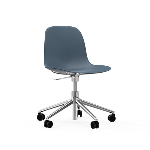 Form Swivel Chair with Castors