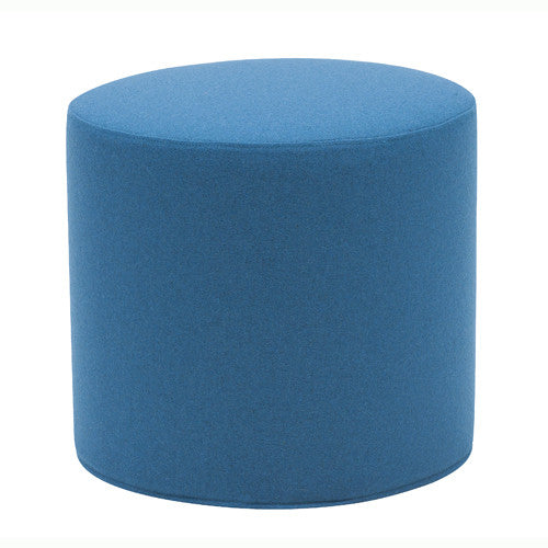 Drum Pouf and Tray