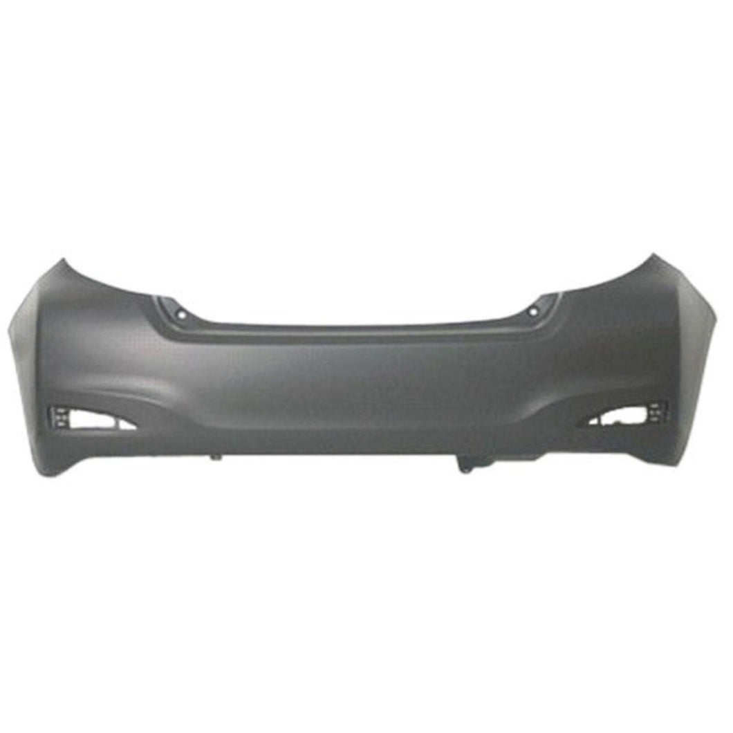 New Painted 2012-2014 Toyota Yaris Hatchback Rear Bumper