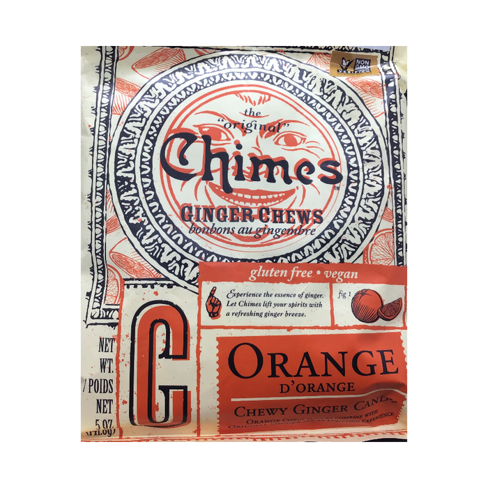 Chimes Ginger Chew Orange Flavour 5oz
