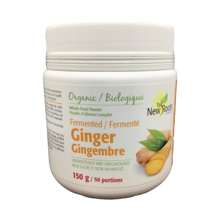 Organic Fermented Ginger 150g New Roots Herbal