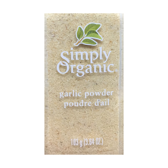 Garlic Powder 103g Simply Organic