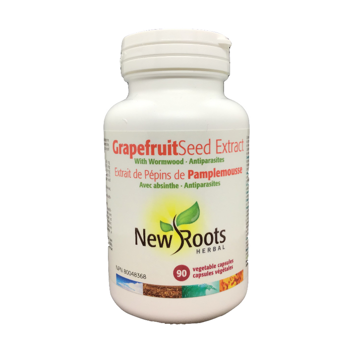 Grapefruit Seed Extract 90 Capsules New Roots Herbal