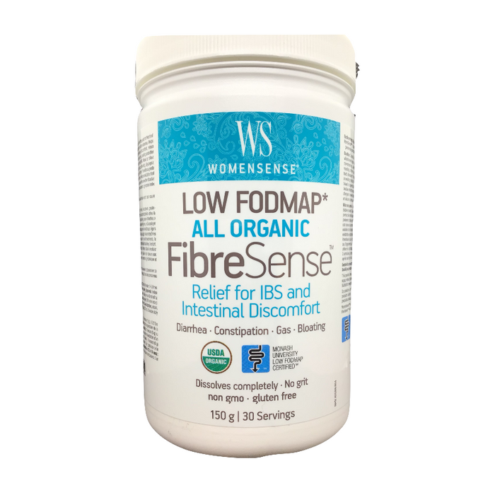 Low Fodmap FibreSense 150g Powder WomenSense