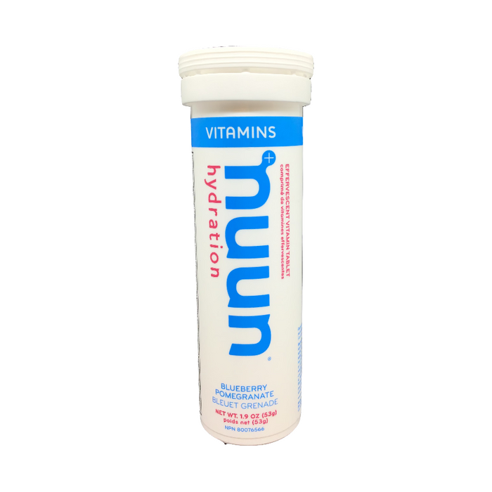 Nuun Hydration Vitamins Blueberry Pomegranate Flavour