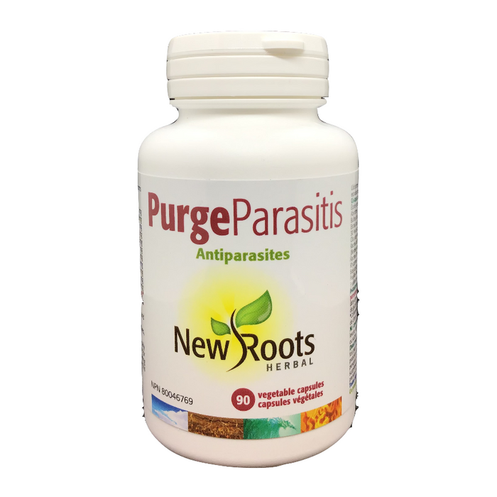 Purge Parasitis 90 Capsules New Roots Herbal