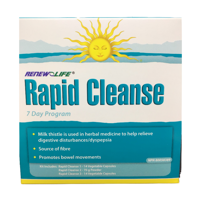 Rapid Cleanse 7 Day Program Renew Life