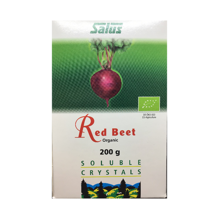 Red Beet Soluble Crystals 200g Salus
