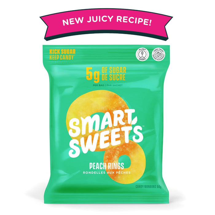 Smart Sweets Peach Rings 50g