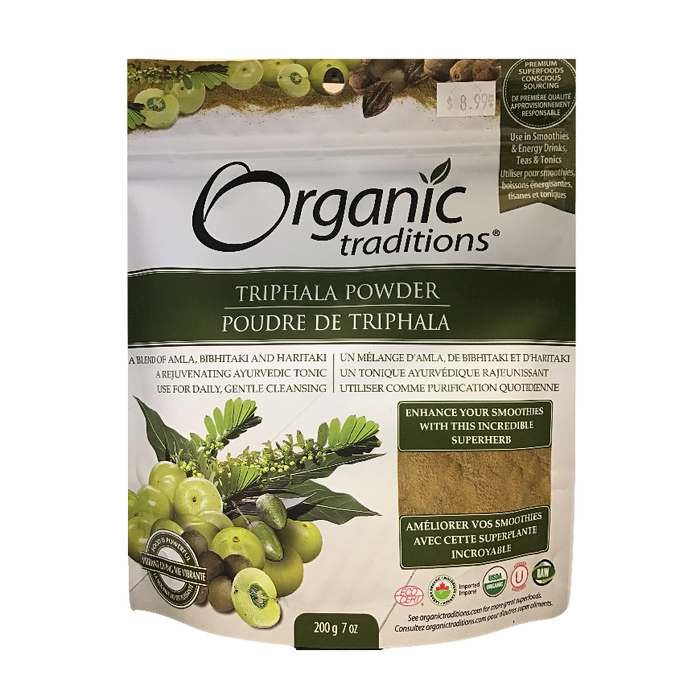 Triphala Powder 200g Organic Traditions