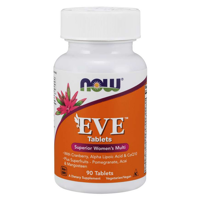 EVE Superior Women's Multivitamin 90 Tablets Now Foods