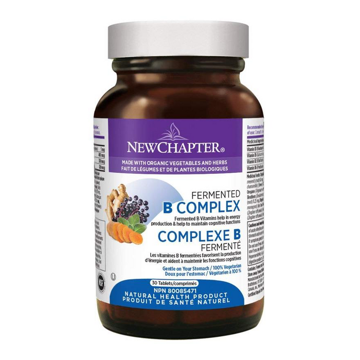 Fermented B Complex 30 Tablets New Chapter