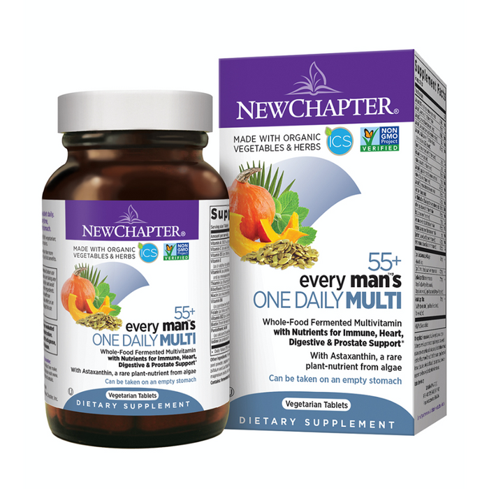 Every Man's One Daily Multi 55+ 49 Tablets New Chapter