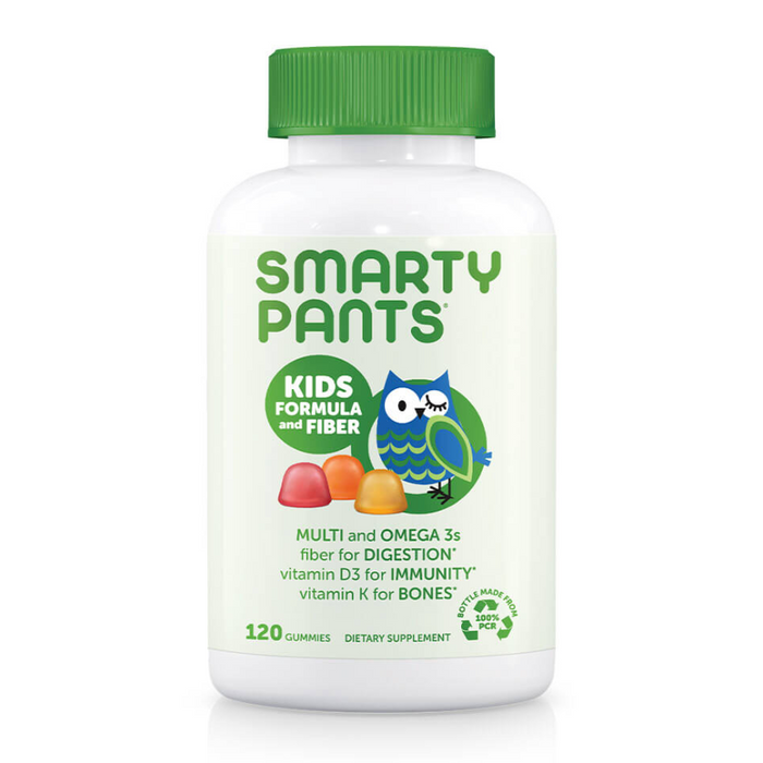 Smarty Pants Kids Complete Multivitamin Plus Fiber 120 Gummies
