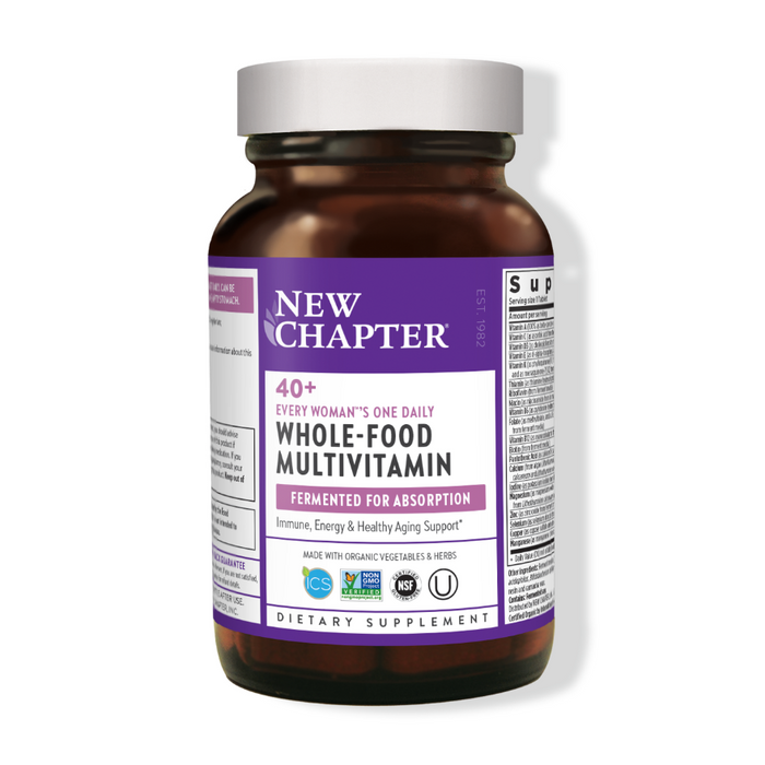 40+ Every Woman's One Daily Multivitamin 96 Tablets New Chapter