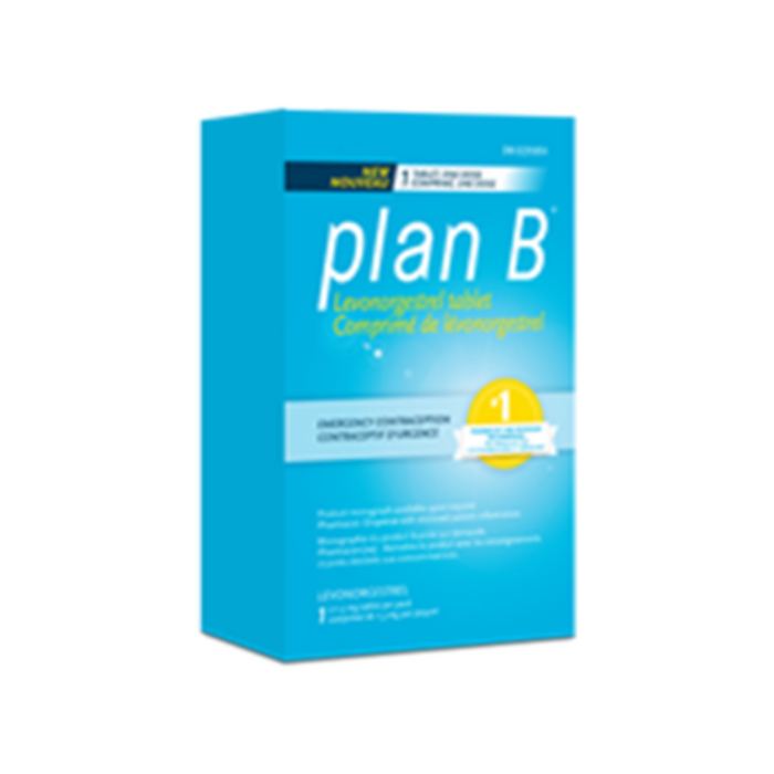 Plan B Emergency Contraception 1 Tablet