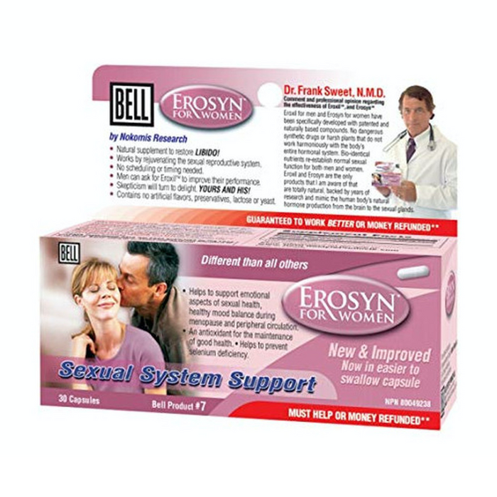 Erosyn for Women Sexual System Support 30 Capsules