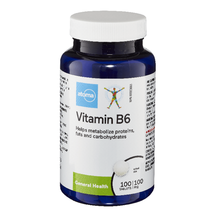 Atoma Vitamin B6 100mg 100 Tablets