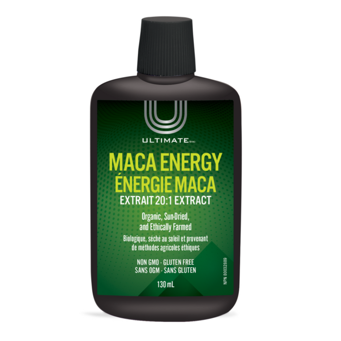 Maca Energy Black Maca Liquid Extract 20:1 130ml Ultimate