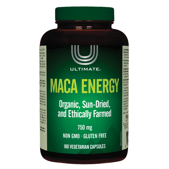 Maca Energy 750mg 180 Capsules Ultimate