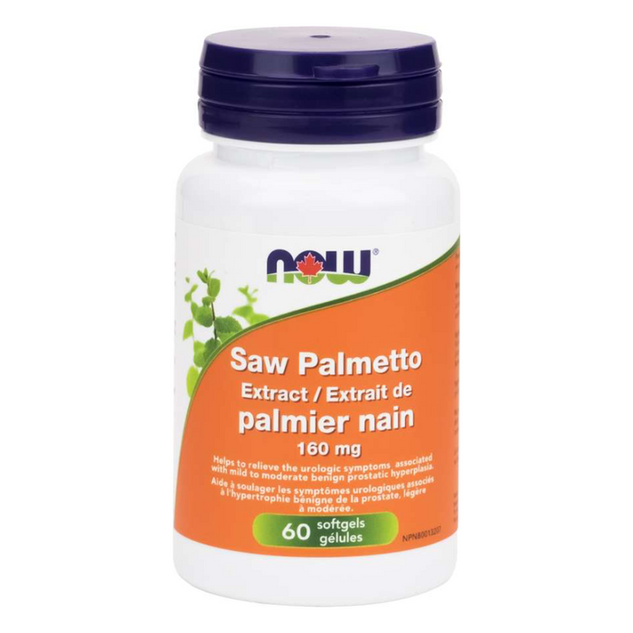 Saw Palmetto Extract 160mg Softgels Now Foods